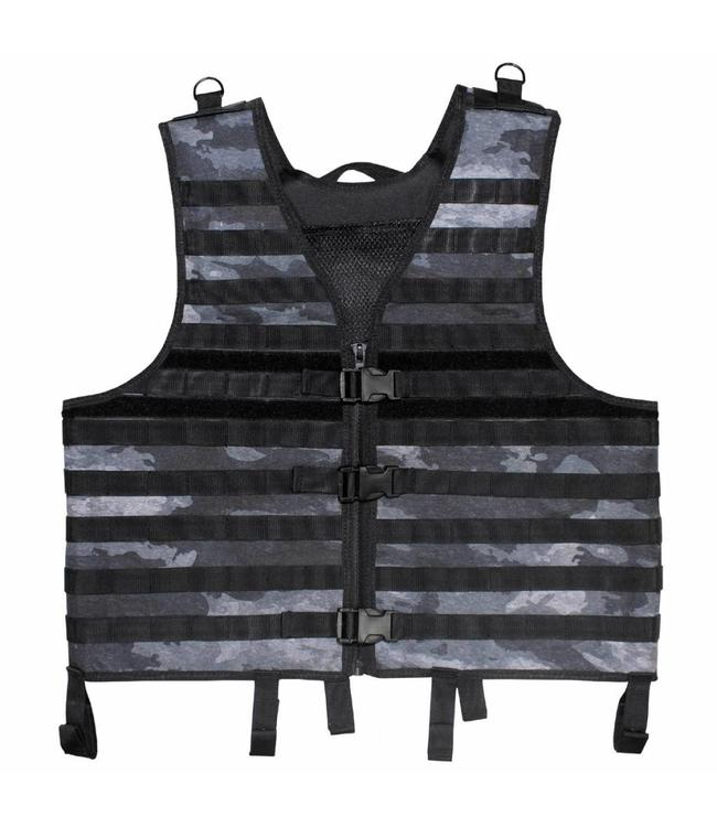 "Tactical vest ""Molle light"", modular, HDT camouflage grijs"