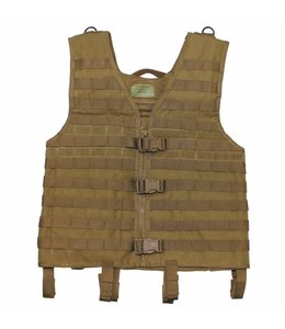 "Tactical vest ""Molle light"", modular, coyote tan"
