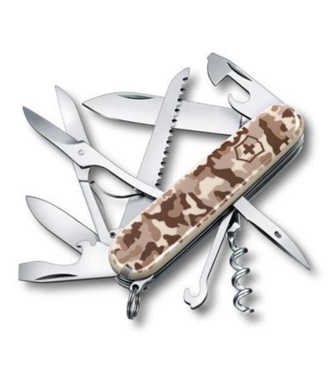 Victorinox Zakmes, SwissArmy, Huntsman, 15 functies, desert camouflage, blister