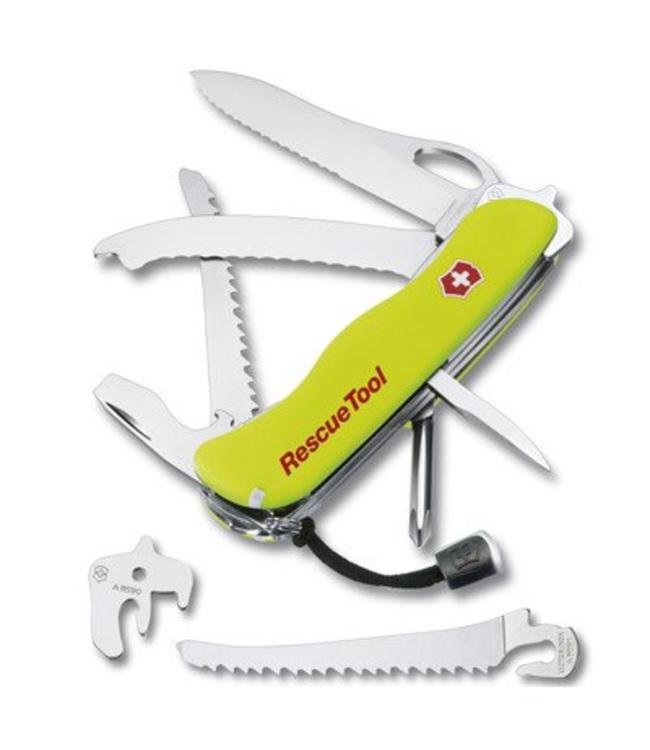 Victorinox Zakmes RescueTool, 1 Hand, 15 functies, 2 lock, et.
