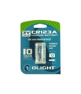 Olight CR123A Lithium batterij voor zaklampen 3V 1600mAh