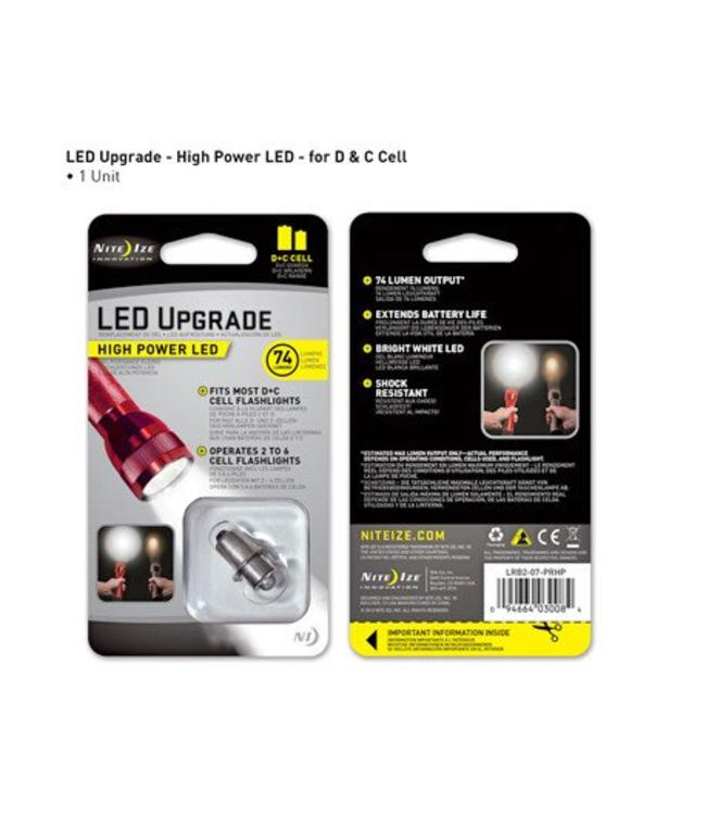 Nite Ize Power LED Upgrade maglite D&C 74 lm