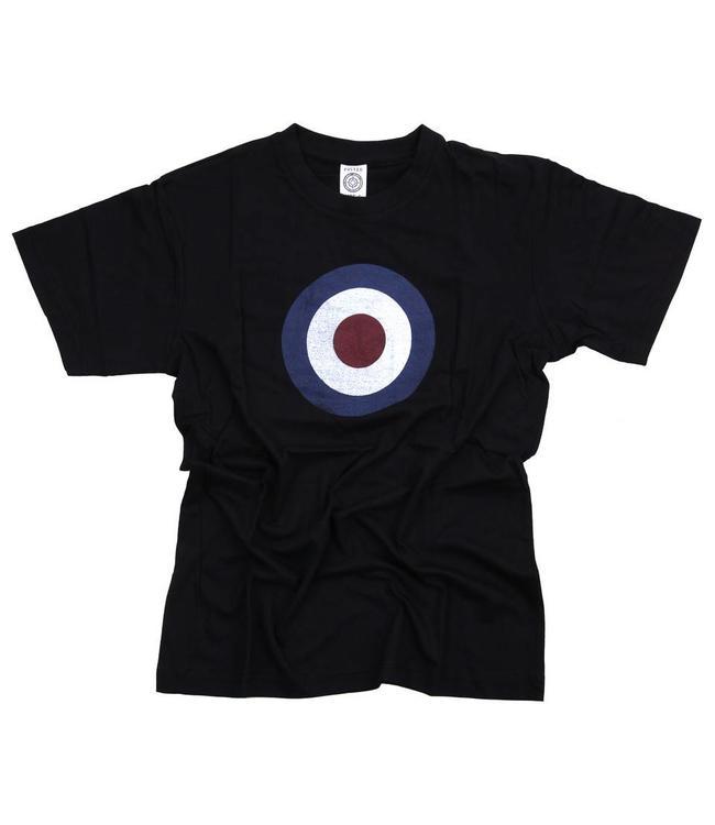 T-shirt Royal Air Force (RAF) Zwart