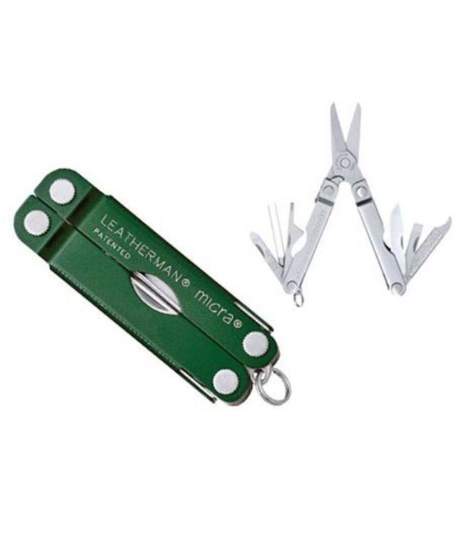 Leatherman Micra Green Multi-tool
