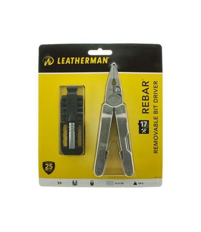 Leatherman Rebar Nylon Sheath met bit driver set Multi-tool