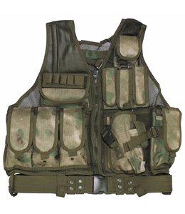 """Tactical vest, """"USMC"""", met riem, holster, div. pouches, HDT-camouflage FG"""