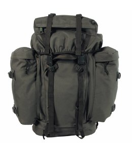 """BW Rugzak """"Mountain"""", OD Groen,met 2 side bags"""