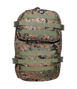 "Rugzak ""Assault II"" 45 liter, digital woodland camouflage"