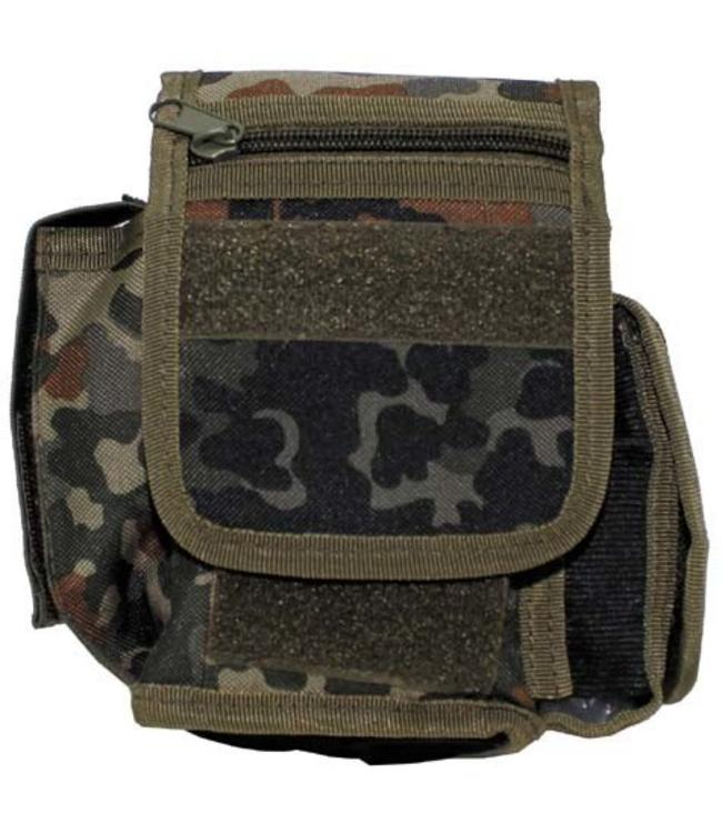 Riem Pouch with 3 compartments, BW camouflage