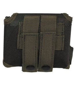 "Tas ""Molle"", met pouch, woodland camouflage"