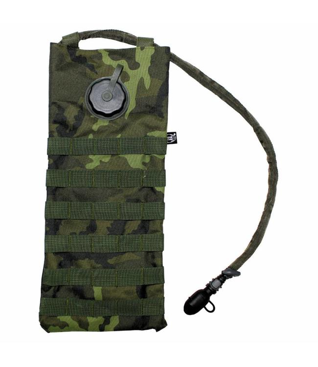 """Hydration Pack, """"Molle"""", met drinking cup 2,5 l, CZ camouflage"""