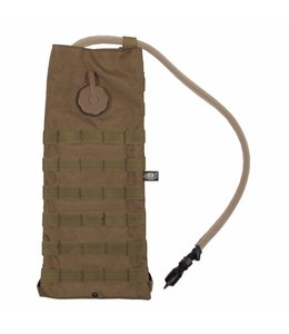 "Hydration Pack, ""Molle"", met  drinking cup 2,5 l, coyote tan"