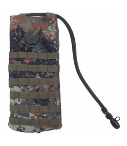"Hydration Pack, ""Molle"",met  drinking cup 2,5 l, BW camouflage"
