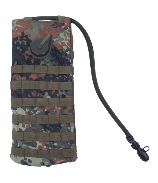 """Hydration Pack, """"Molle"""",met  drinking cup 2,5 l, BW camouflage"""