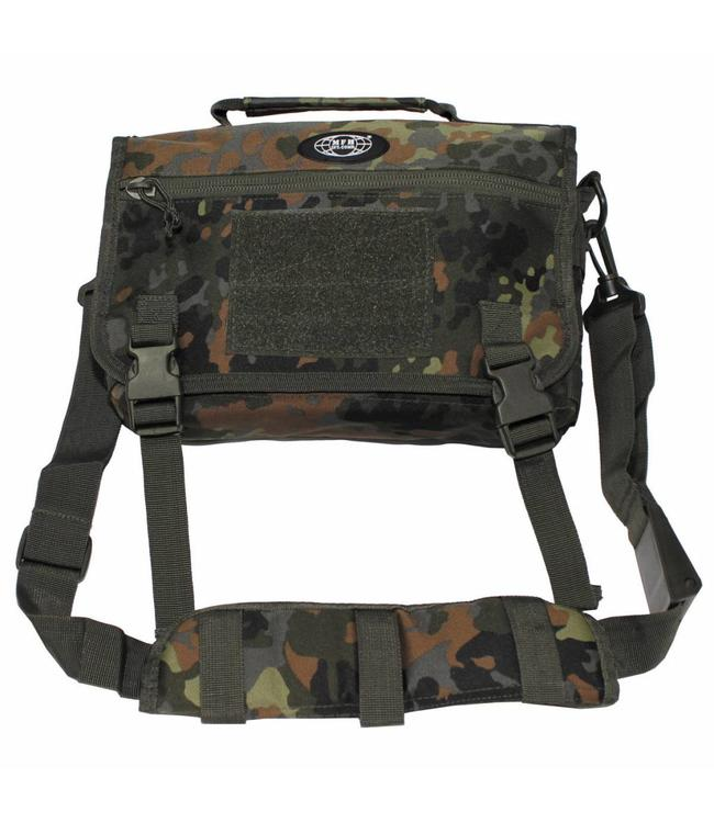 """Schoudertas, small, """"MOLLE"""", BW camouflage"""