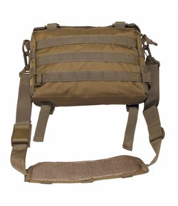 "Schoudertas, small, ""MOLLE"", coyote tan"