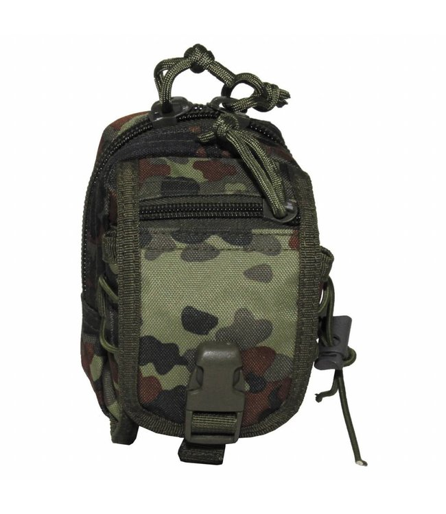 """Utility Pouch, """"Molle"""", small, BW camouflage"""