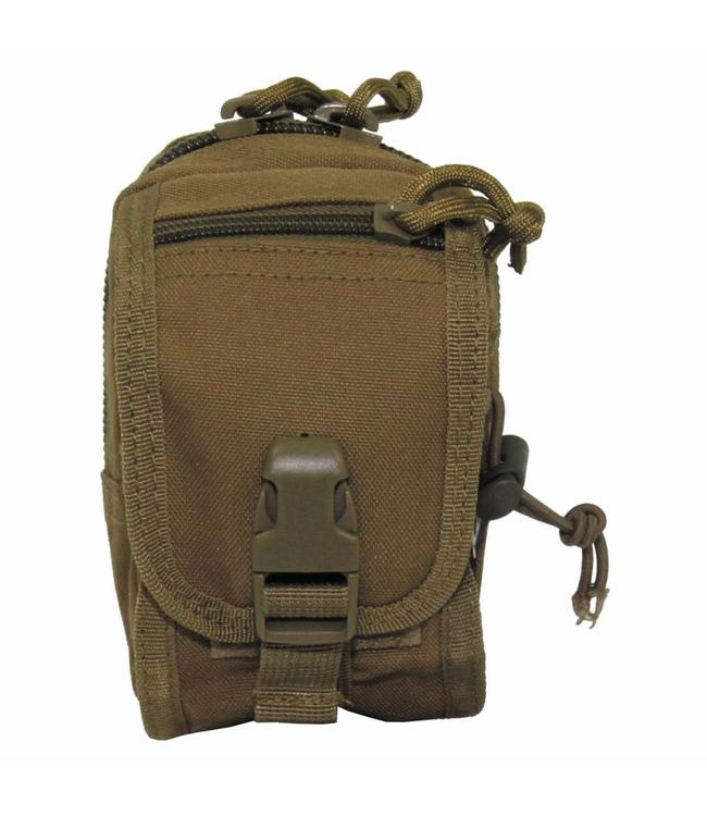 """Utility Pouch, """"Molle"""", small, coyote tan"""