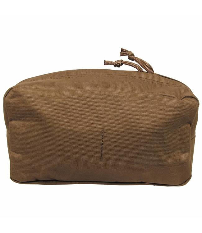 """Utility Pouch, """"Molle"""", big, coyote tan"""