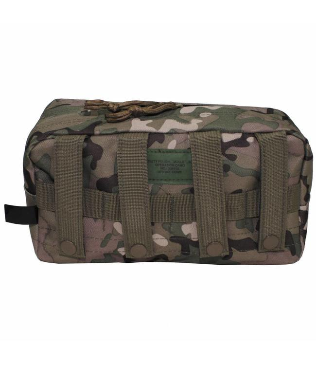 """Utility Pouch, """"Molle"""", big, operation camouflage"""