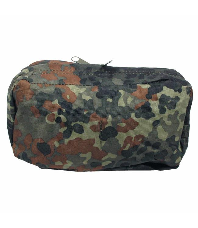 """Utility Pouch, """"Molle"""", big, BW camouflage"""