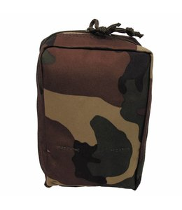 """Utility Pouch, """"Molle"""", small, woodland camouflage"""