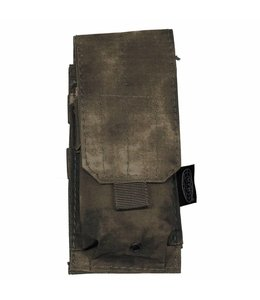 "Ammu Pouch, single, ""Molle"", HDT camouflage Groen"