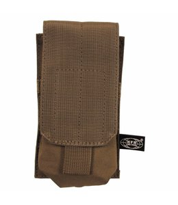 """Ammu Pouch, single, """"Molle"""", coyote tan"""