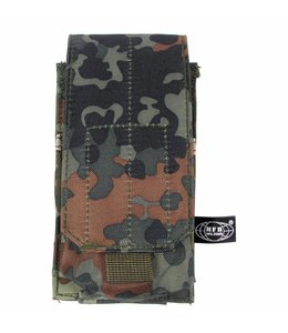 """Ammu Pouch, single, """"Molle"""", BW camouflage"""