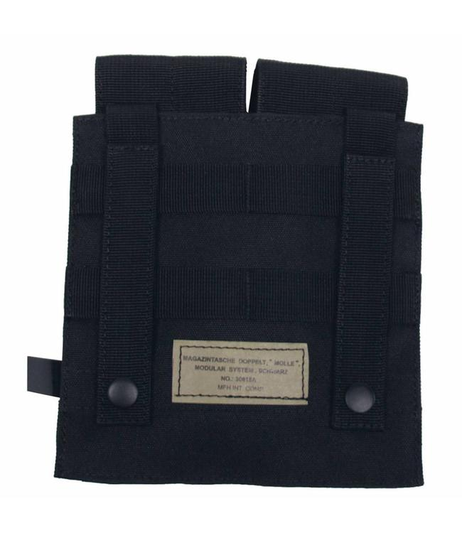 "Ammo Pouch, double, ""Molle"", Zwart"