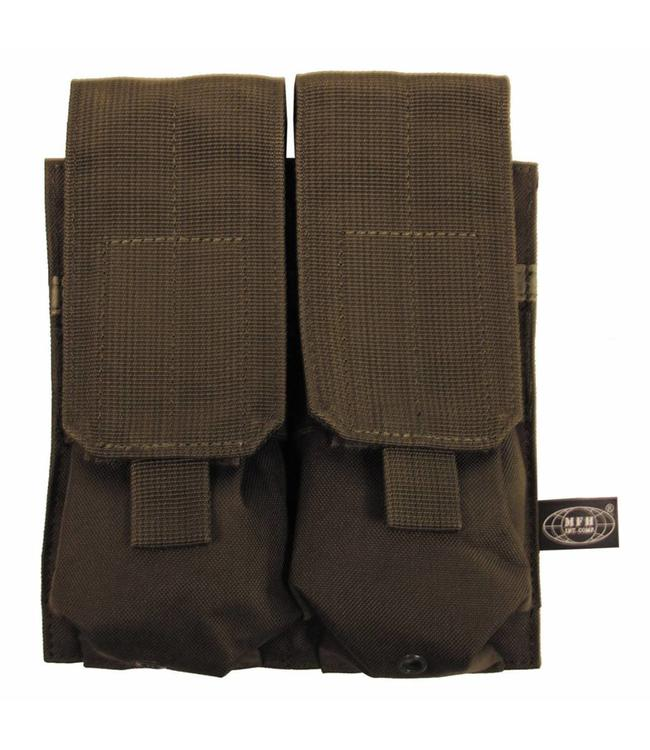 "Ammo Pouch, double, ""Molle"", OD Groen"
