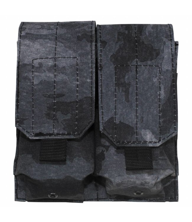 "Ammo Pouch, double, ""Molle"", HDT camouflage grijs"