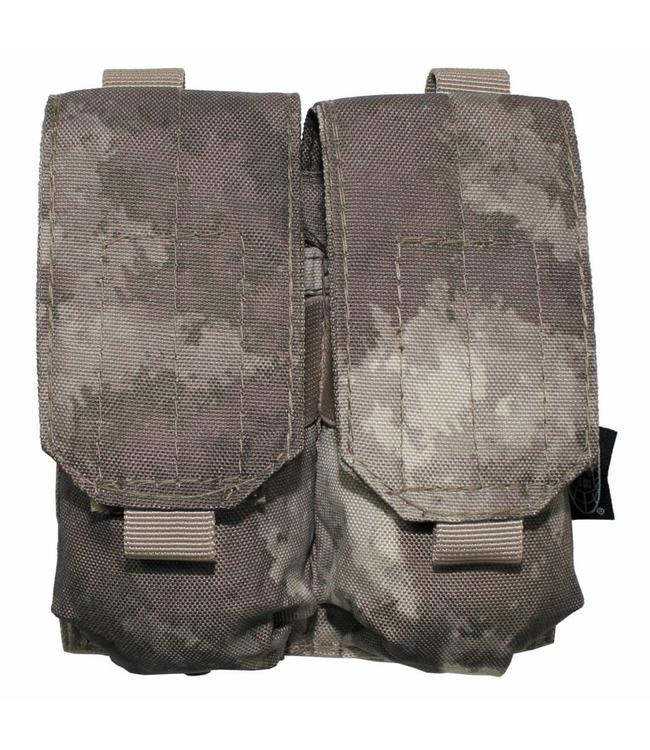 "Ammo Pouch, double, ""Molle"", HDT camouflage"