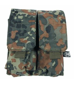 """Ammo Pouch, double, """"Molle"""", BW camouflage"""