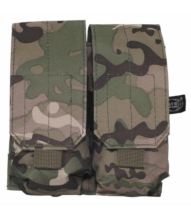 "Ammo Pouch, double, ""Molle"", operation camouflage"