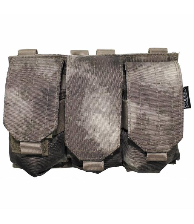 "Ammo Pouch, triple, ""Molle"", HDT camouflage"