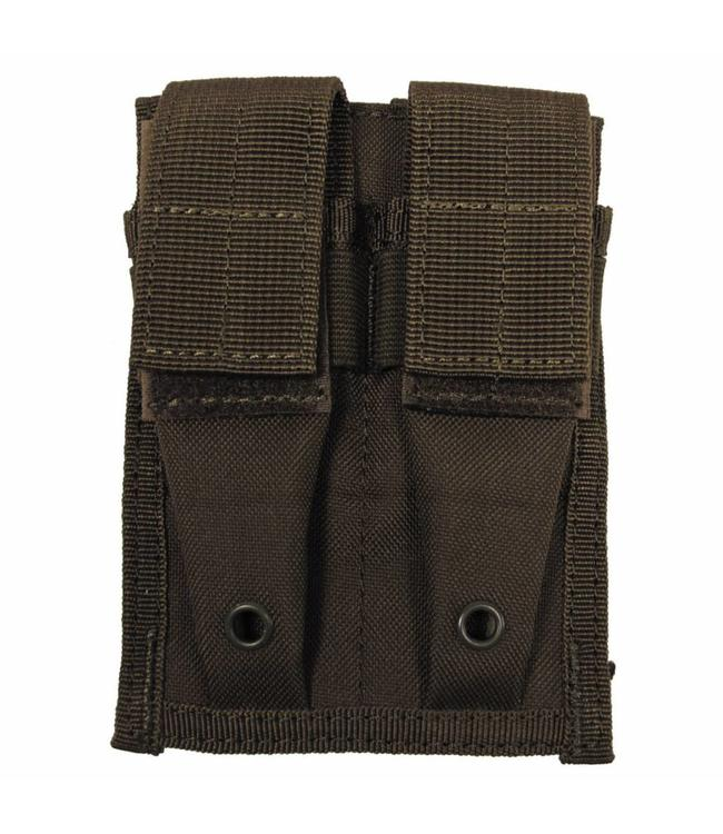"Ammo Pouch, double, ""Molle"", small, OD Groen"