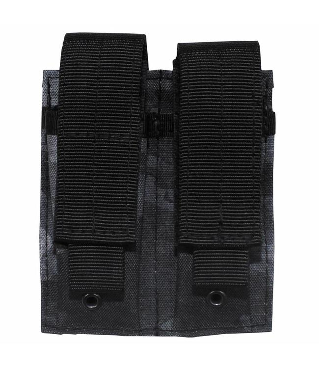 """Ammo Pouch, double, """"Molle"""", small, HDT camouflage grijs"""