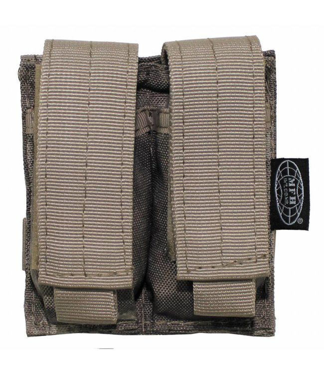 "Ammo Pouch, double, ""Molle"", small, HDT camouflage"