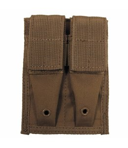 """Ammo Pouch, double, """"Molle"""", small, coyote tan"""