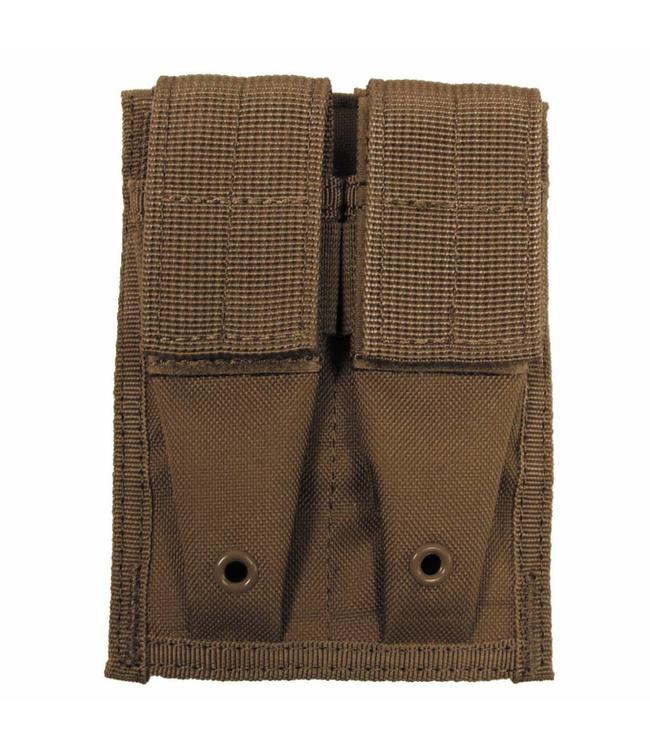 "Ammo Pouch, double, ""Molle"", small, coyote tan"
