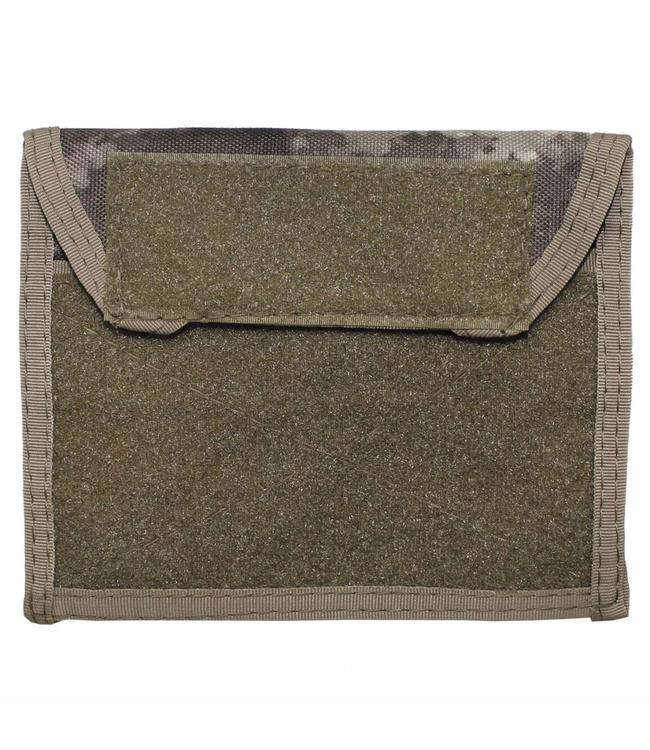 "Chest Pouch met Klittenband, ""Molle"", HDT camouflage"