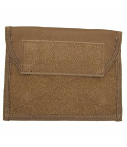 "Chest Pouch met Klittenband, ""Molle"", coyote tan"
