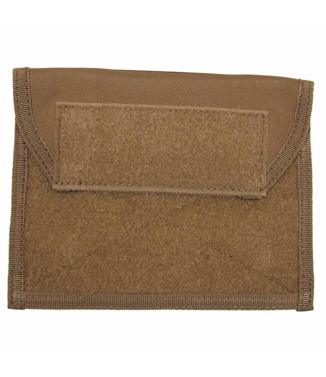 """Chest Pouch met Klittenband, """"Molle"""", coyote tan"""