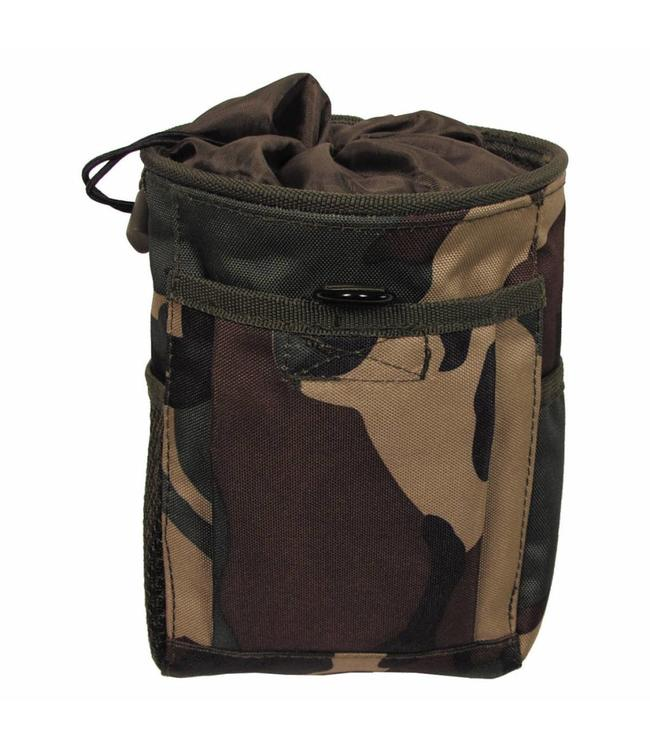"Bullet/Dump Pouch, ""Molle"", woodland camouflage"