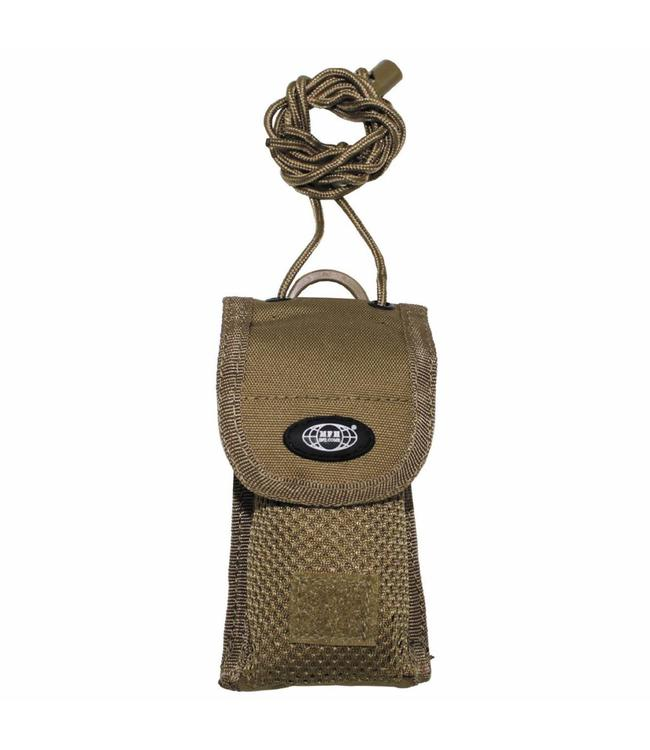 """Mobile Phone Bag, """"MOLLE"""", for smart phone, coyote"""