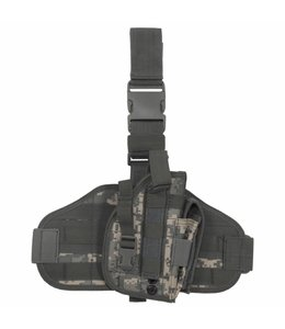 "Tactical Holster, ""Molle"", leg- and belt fixing, AT-digi."