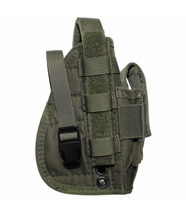 "Tactical Holster, ""Molle"", OD Groen"