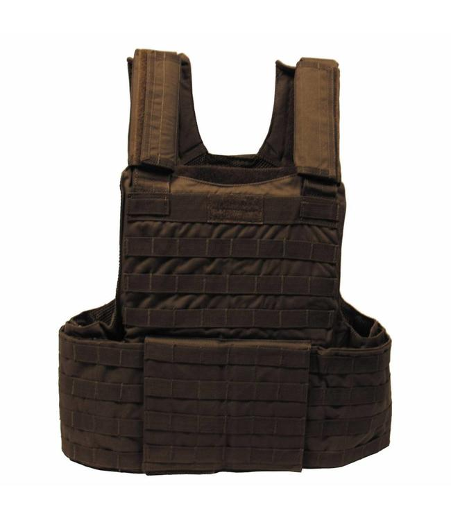 """Tactical vest """"Molle II"""", met voering, modular, OD Groen"""