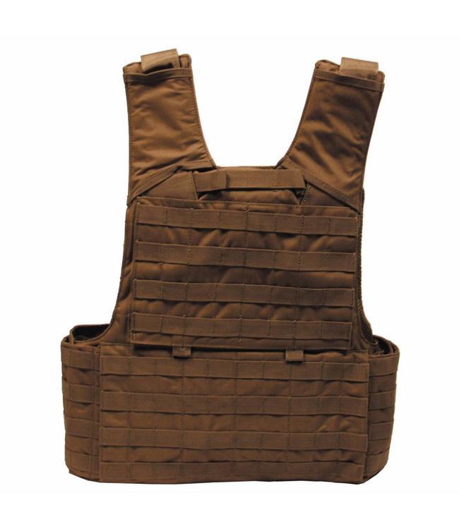 """Tactical vest """"Molle II"""", met voering, modular, coyote tan"""